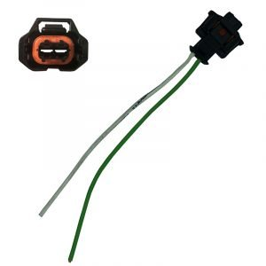 Replacement injector electrical plug for most Bosch Piezo diesel injectors