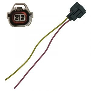 Replacement Denso injector electrical plug to suit short style connector