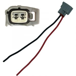 Replacement injector electrical plug with wire to suit most Denso injectors