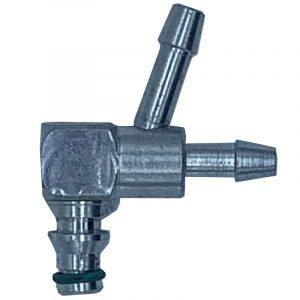 90 / 45 deg Leak off connector for VDO common rail diesel systems