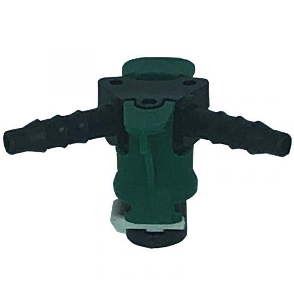 180 deg Leak off self locking connector for VDO Piezo common rail diesel