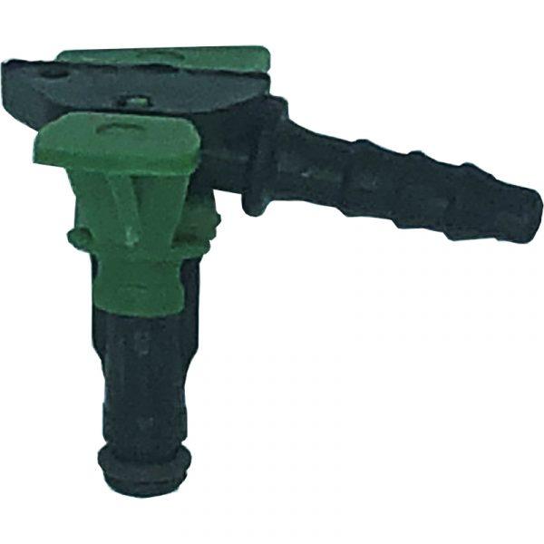 70 deg 1 way self locking leak off connector to suit Delphi diesel injectors