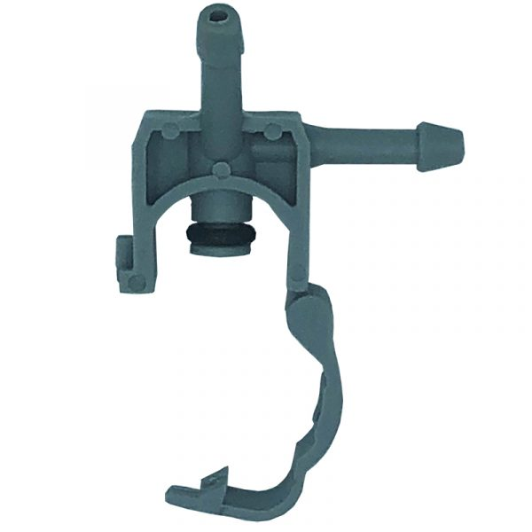 L Shaped 2 way clip lock leak off connector to suit Delphi diesel injectors