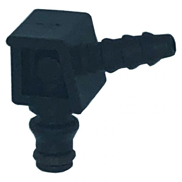 90 deg Offset Leak off connector for Denso common rail diesel systems