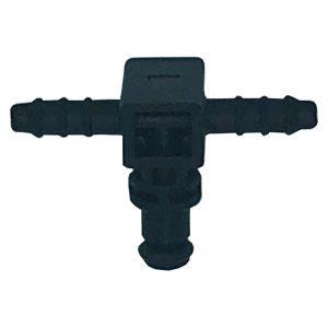 180 deg Offset Leak off connector for Denso common rail diesel systems